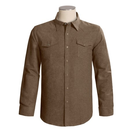 Grizzly Maverick Shirt - Cotton Chamois, Long Sleeve (For Men)