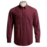 Weekendz Off Combed Cotton Shirt - Long Sleeve (For Men)