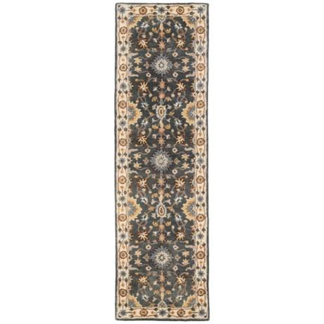 """Momeni Tudor Collection Wool Floor Runner Rug - 2'3""""x8'"""