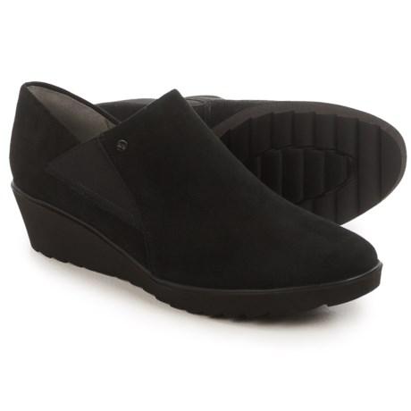 Ara McBride Wedge Shoes - Suede, Slip-Ons (For Women)