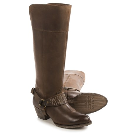 Ariat Sadler Tall Cowboy Boots - Leather, Almond Toe (For Women)