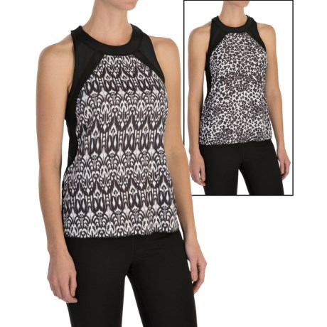 MSP by Miraclesuit Mesh-Back Tank Top - Reversible, Racerback (For Women)