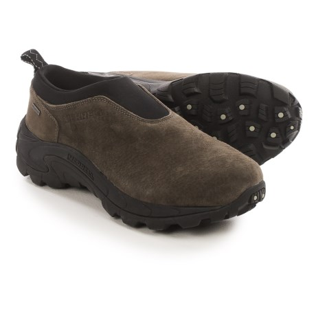 Merrell Winter Moc II Shoes - Waterproof, Suede (For Men)