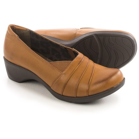 Hush Puppies Soft Style Kambra Shoes - Vegan Leather, Slip-Ons (For Women)