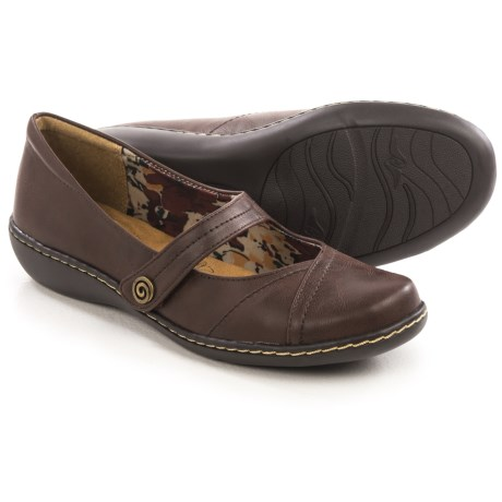 Hush Puppies Soft Style Jayne Mary Jane Shoes - Leather (For Women)