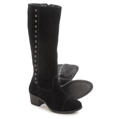 Hush Puppies Ideal Nellie Boots - Suede (For Women)