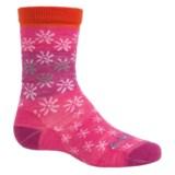 SmartWool Daisy Dot Socks - Merino Wool, Crew (For Big Girls)