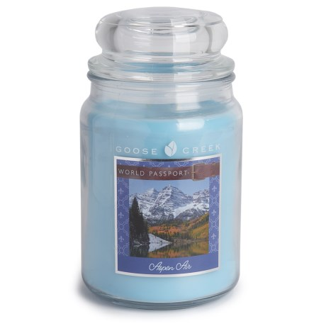Goose Creek Happy at Home Scented Candle - 19 fl.oz., Double Wick