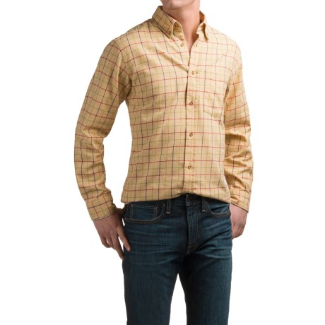 Southern Proper Tattersall Shirt - Brushed Cotton, Long Sleeve (For Men)