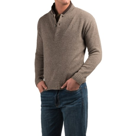 Southern Proper Shawl-Collar Sweater - Wool (For Men)