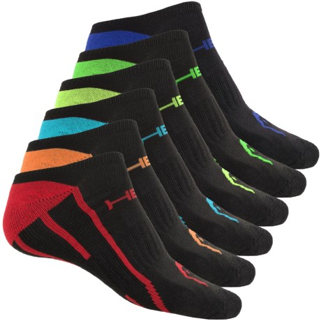 Head No-Show Running Socks - 6-Pack, Below the Ankle (For Men)