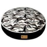 """P.L.A.Y. Camouflage Dog Bed - Small, 28"""" Round"""