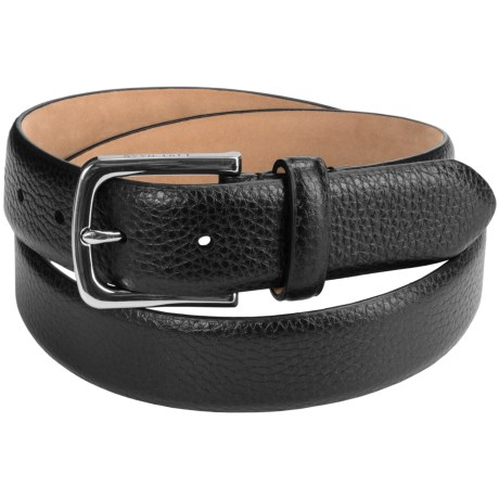 Cole Haan Pebbled Leather Belt (For Men)