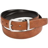Cole Haan Feathered Edge Reversible Leather Belt (For Men)