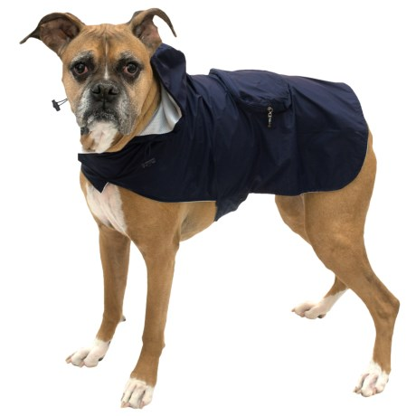 FabDog Fab Dog Packaway Dog Rain Coat