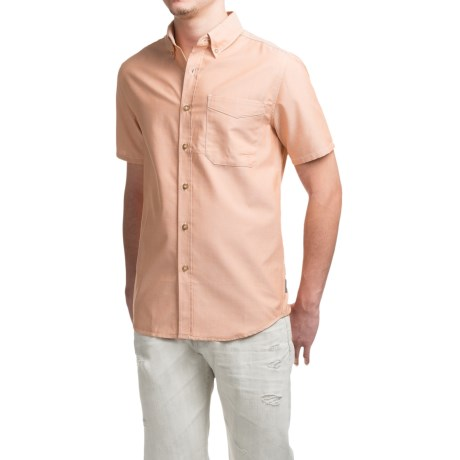 Royal Robbins Go Everywhere Oxford Shirt - UPF 50+, Short Sleeve (For Men)