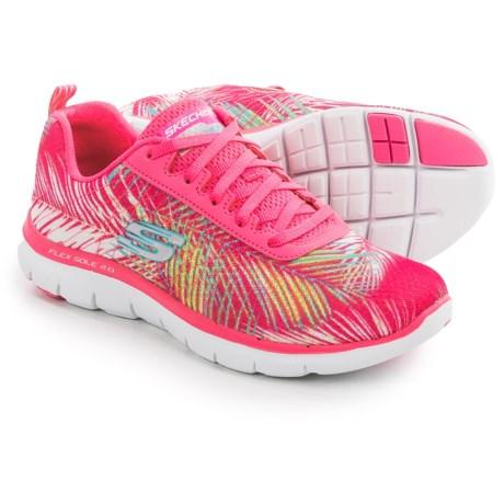 Skechers Flex Appeal 2.0 Tropical Sneakers (For Women)