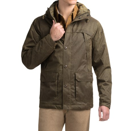 Royal Robbins Waxed-Twill Field Parka - UPF 50+, Insulated (For Men)