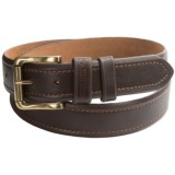 Wolverine Double Trapper Leather Belt (For Men)