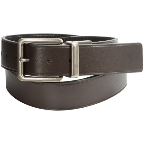Wolverine Pebbled Leather Belt - Reversible (For Men)