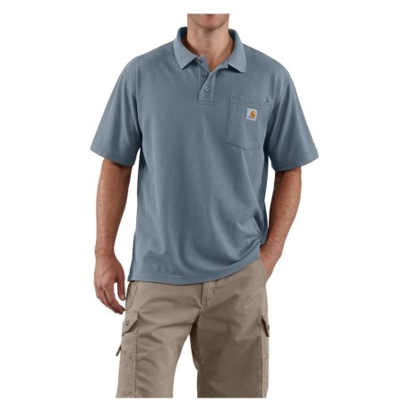 Carhartt Contractors Polo Shirt - Short Sleeve, Factory Seconds (For Men)