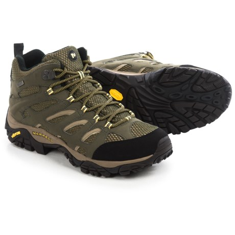 Merrell Moab Mid Hiking Boots - Waterproof (For Men)