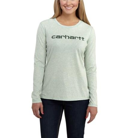 Carhartt Signature T-Shirt - Long Sleeve, Factory Seconds (For Women)