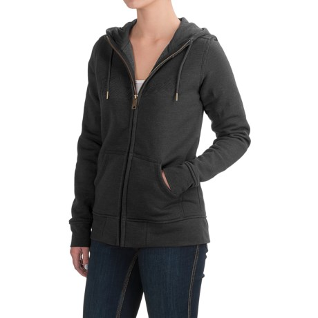Carhartt Clarksburg Hoodie - Full Zip, Factory Seconds (For Women)