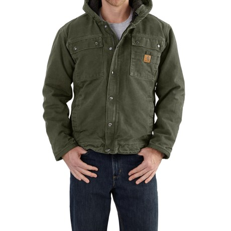 Carhartt Bartlett Sherpa-Lined Jacket - Factory Seconds (For Big and Tall Men)
