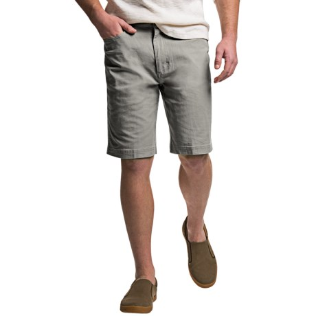 Ecoths Miller Flat-Front Shorts - Organic Cotton (For Men)