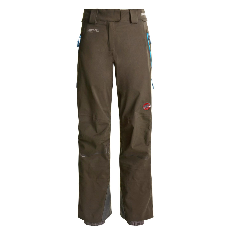 mammut nirvana snowfly gore tex pants for women 1803w. Black Bedroom Furniture Sets. Home Design Ideas