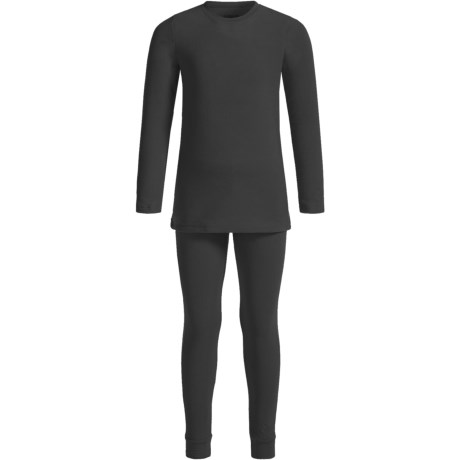 Cuddl Duds Fleece Base Layer Set - Long Sleeve (For Big and Little Girls)