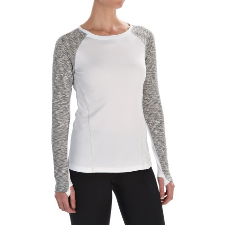Layer 8 Cozy Crew Neck Shirt - Long Sleeve (For Women)