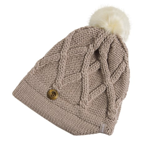 Pistil Cate Basket-Weave Knit Beanie (For Women)