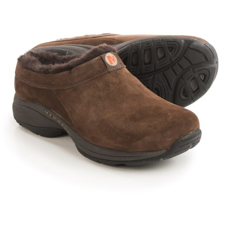 Merrell Primo Chill Slide Shoes - Suede, Wool Lined (For Women)