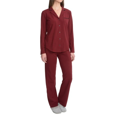 Naked Essential Fashion Pajamas - Stretch Cotton, Long Sleeve (For Women)