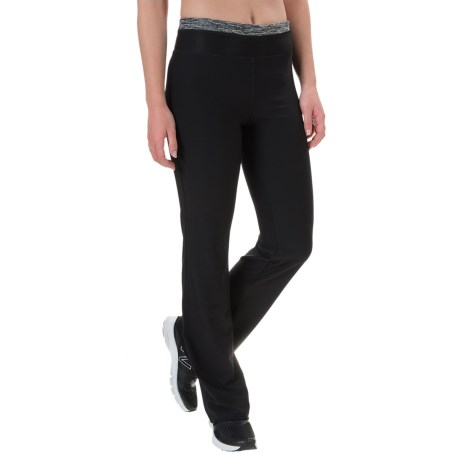 Vogo Bootcut Yoga Pants - Printed Waistband (For Women)