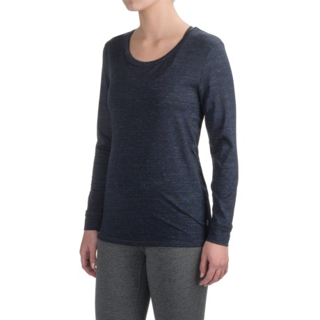 Vogo New Dot Space-Dyed Shirt - Long Sleeve (For Women)