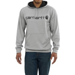 Carhartt Force Extremes Signature Graphic Hooded Sweatshirt - Factory Seconds (For Big and Tall Men)