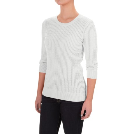Jeanne Pierre Baby Cable-Knit Sweater (For Women)