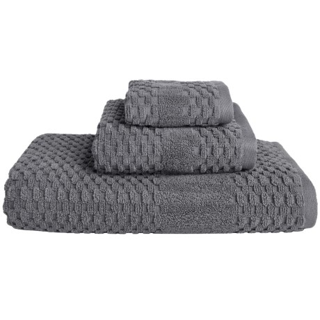 MicroLush by Laura Hill Microlush by Home Dynamix Diamond Dobby Towels - Set of 3