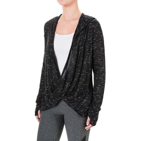 Harmony and Balance Hoodie Shirt - Long Sleeve (For Women)