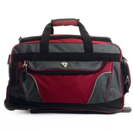 "CalPak 21"" Champ Rolling Duffel Bag"