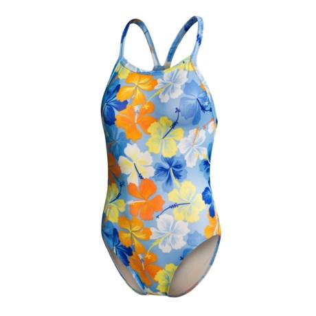 Dolfin Tiki V-2 Swimsuit - 1-Piece (For Women)