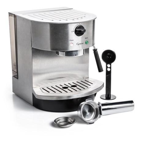 Capresso Stainless Steel Pump Espresso and Cappuccino Machine