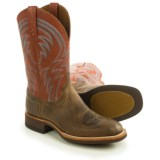 "Lucchese Alan Cowboy Boots - 12"", Square Toe (For Men)"