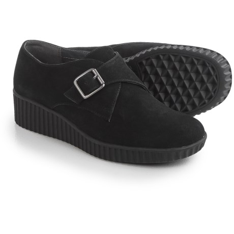 Aerosoles Columbia Wedge Shoes - Nubuck, Slip-Ons (For Women)