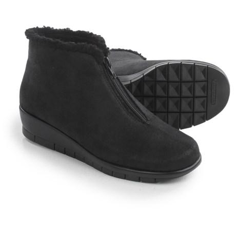Aerosoles Nonchalant Ankle Boots - Vegan Leather (For Women)