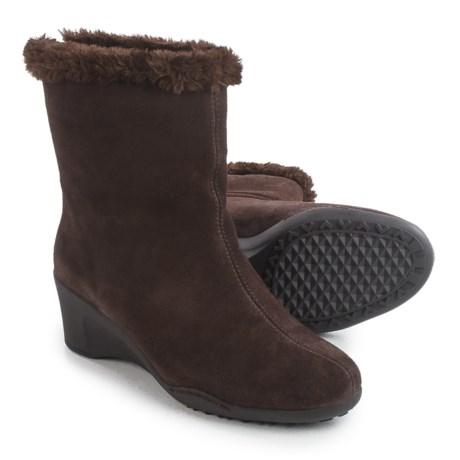 Aerosoles Attorney Boots - Suede, Wedge Heel (For Women)