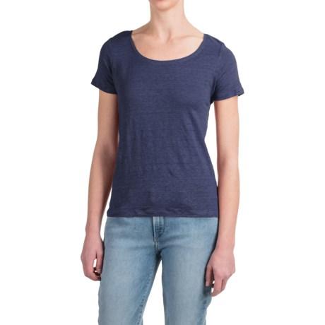 Willi Smith Tulip Back Shirt - Linen, Short Sleeve (For Women)